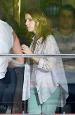 ANNA KENDRICK on the Set of Cake in Los Angeles 0804