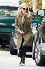ASHLEY BENSON Out and About in Beverly Hills