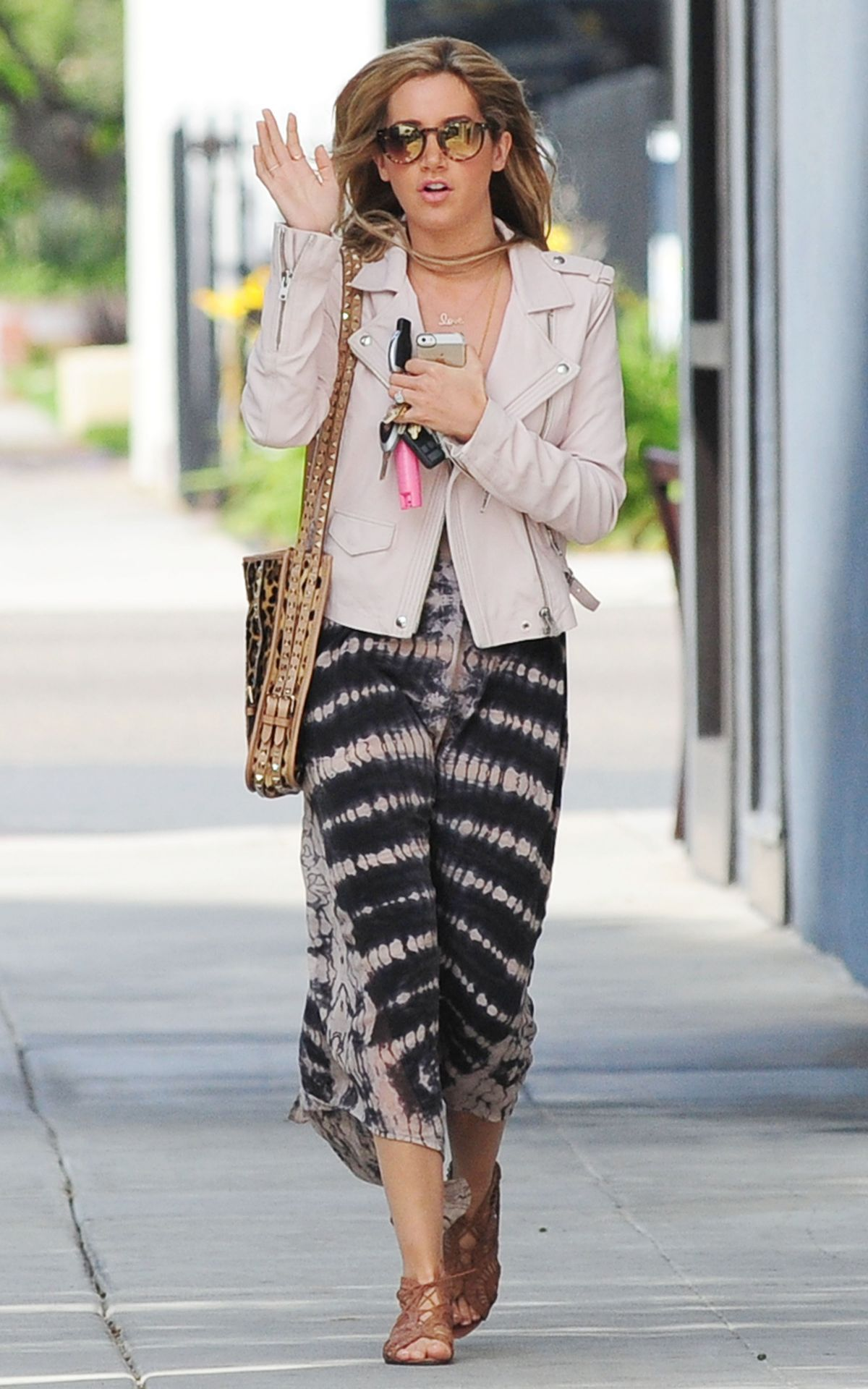 ASHLEY TISDALE Out and About in West Hollywood 1804