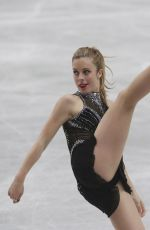 ASHLEY WAGNER at ISU World Figure Skating Championships
