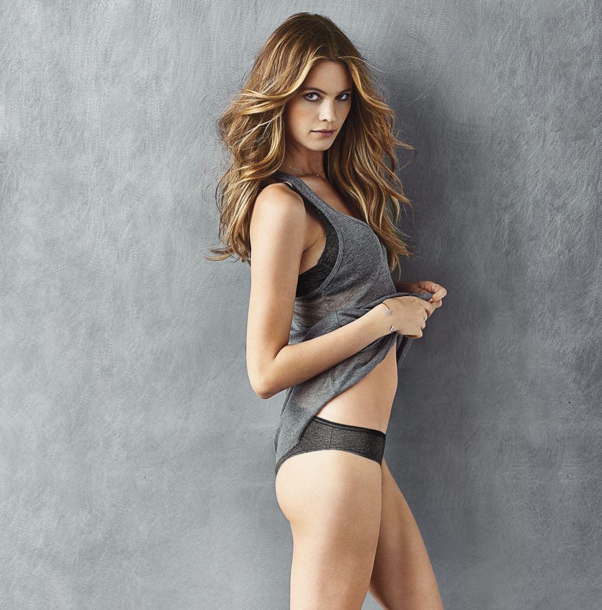 BEHATI PRINSLOO - Victoria's Secret T-Shirt Bra - HawtCelebs ...