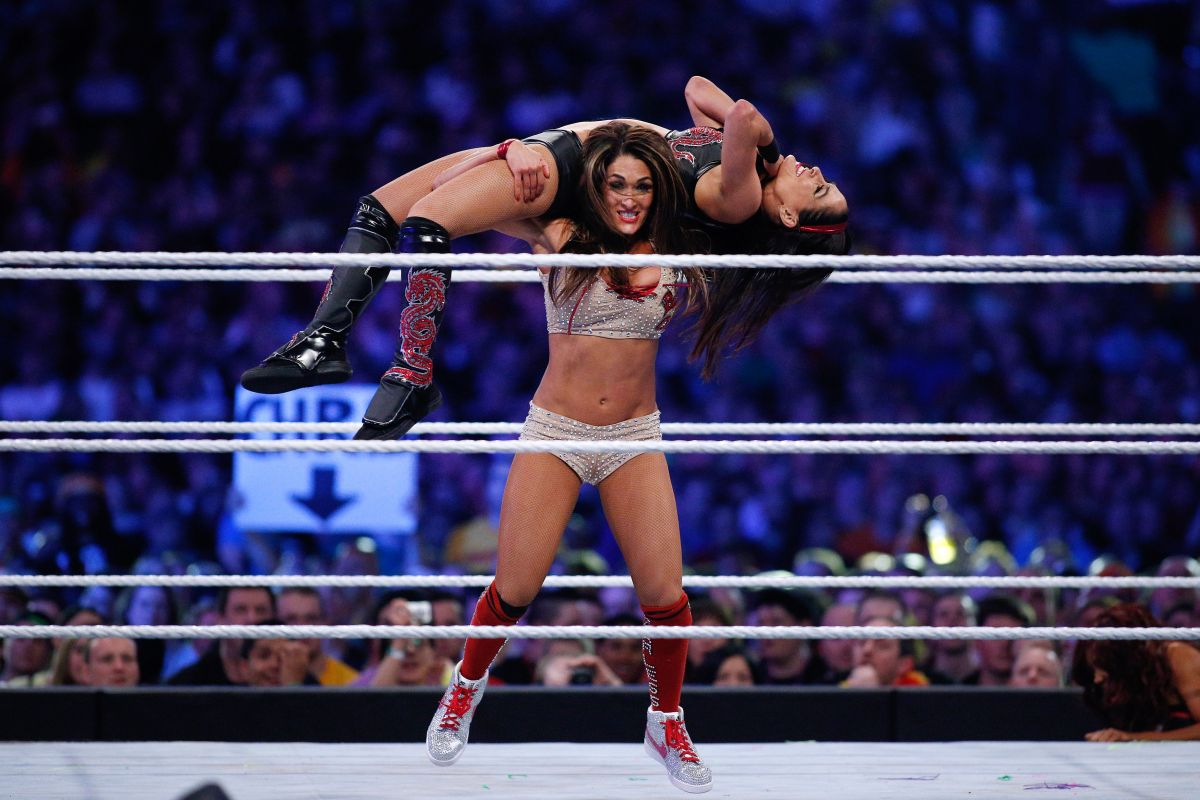 BELLA TWINS - Wrestlemania XXX