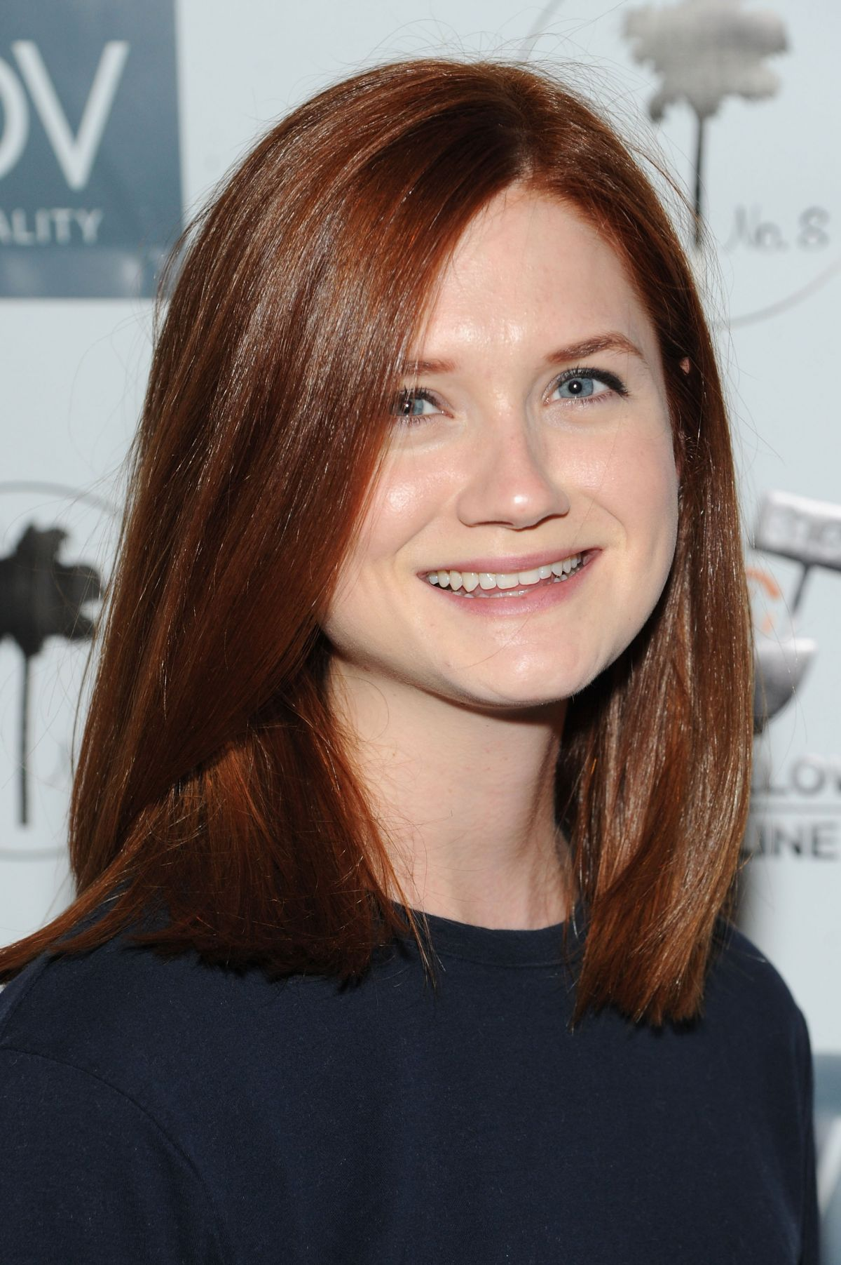 Bonnie Wright At Global Poverty Project And Ldv