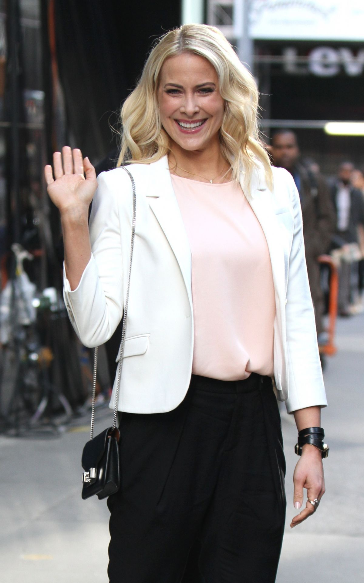 BRITTANY DANIEL at Good Morning America in New York