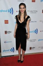 CAITLIN STASEY at 2014 Glaad Media Awards in Los Angeles