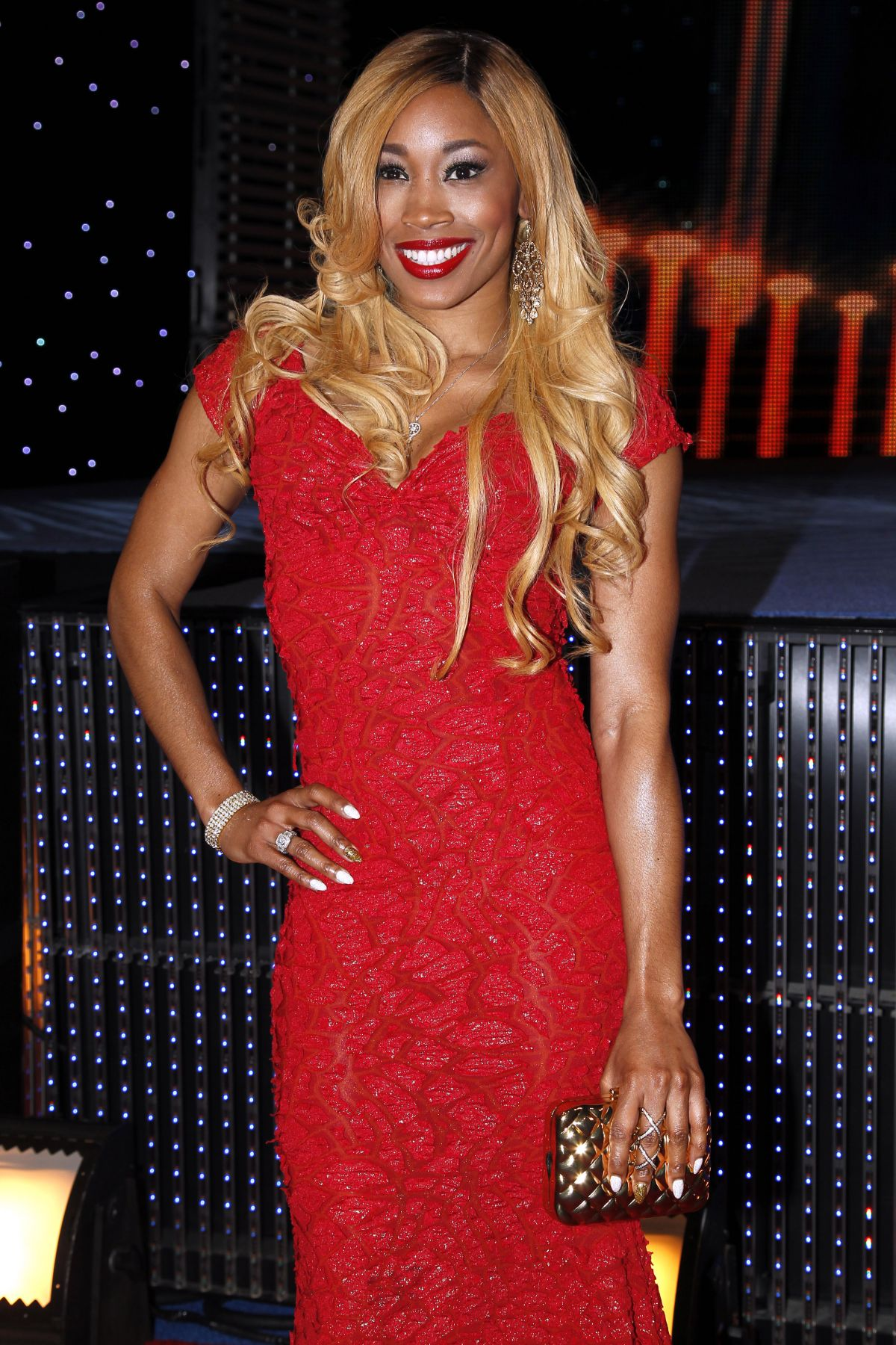 CAMERON (ARIANE ANDREW) at WWE Hall of Fame Induction Ceremony