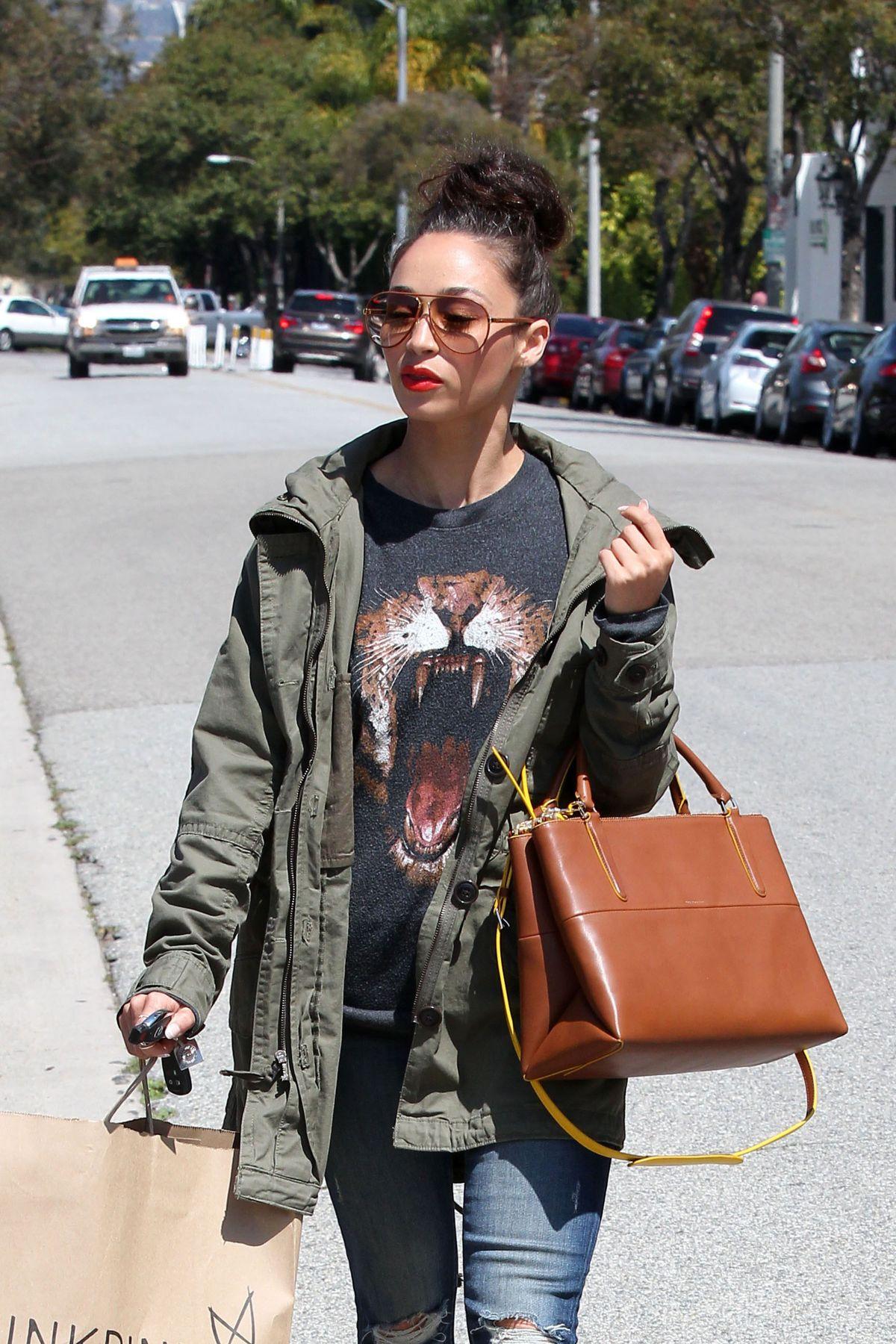 CARA SANTANA Leaves MinkPink in Los Angeles
