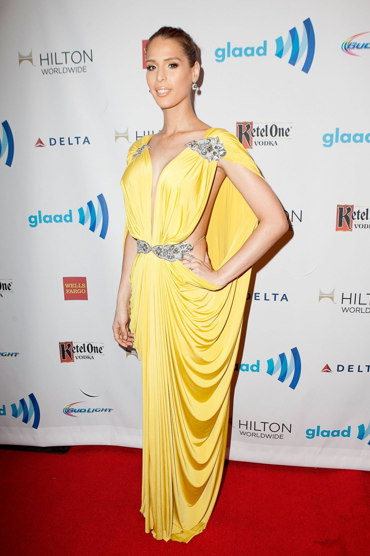 CARMEN CARRERA at 2014 Glaad Media Awards in Los Angeles