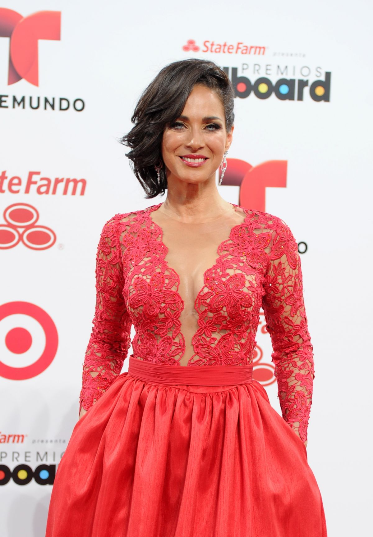 CARMEN DOMICCI at 2014 Billboard Latin Music Awards in Miami