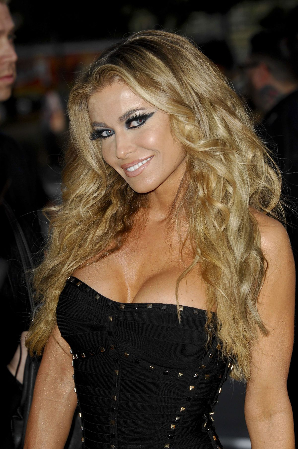 CARMEN ELECTRA at 2014 Revolver Golden Gods Awards in Los Angeles ...
