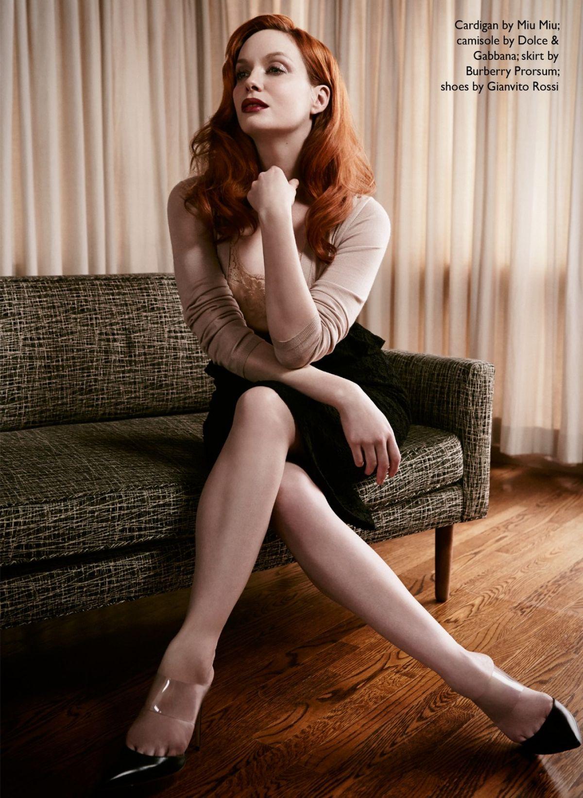 CHRISTINA HENDRICKS - Edit Magazine Photoshoot - HawtCelebs