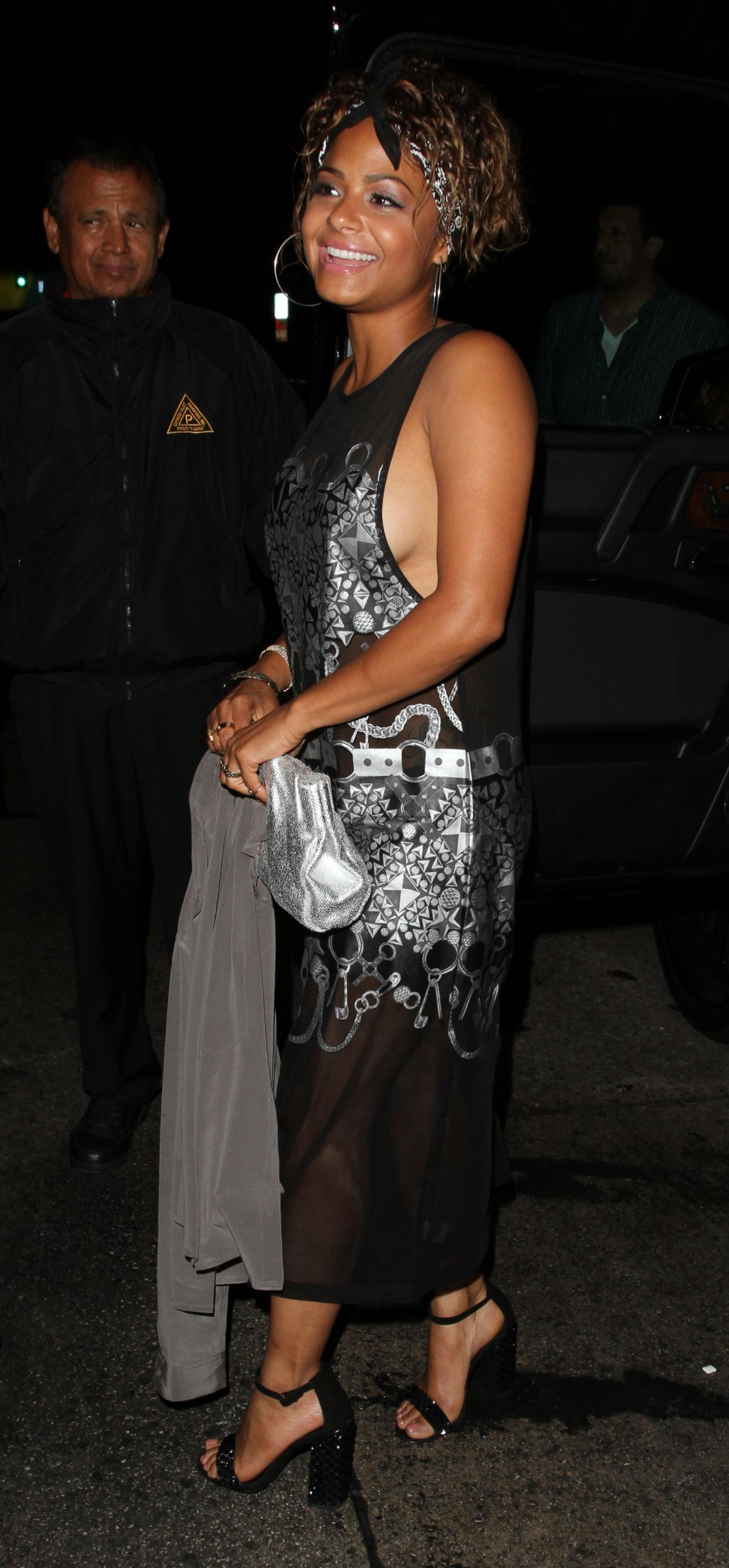 CHRISTINA MILIAN Arrives at Hooray Henry