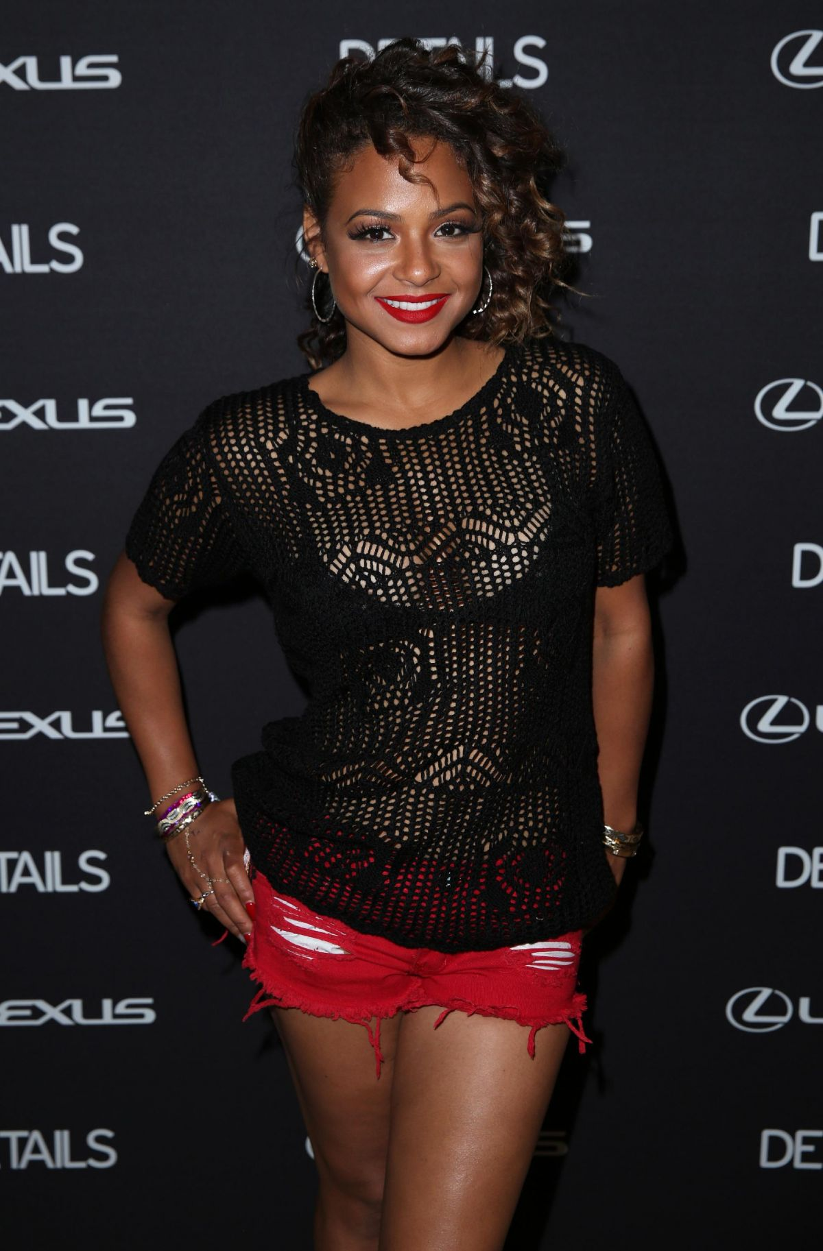 CHRISTINA MILIAN at Details at Midnight Party in Bermuda Dunes