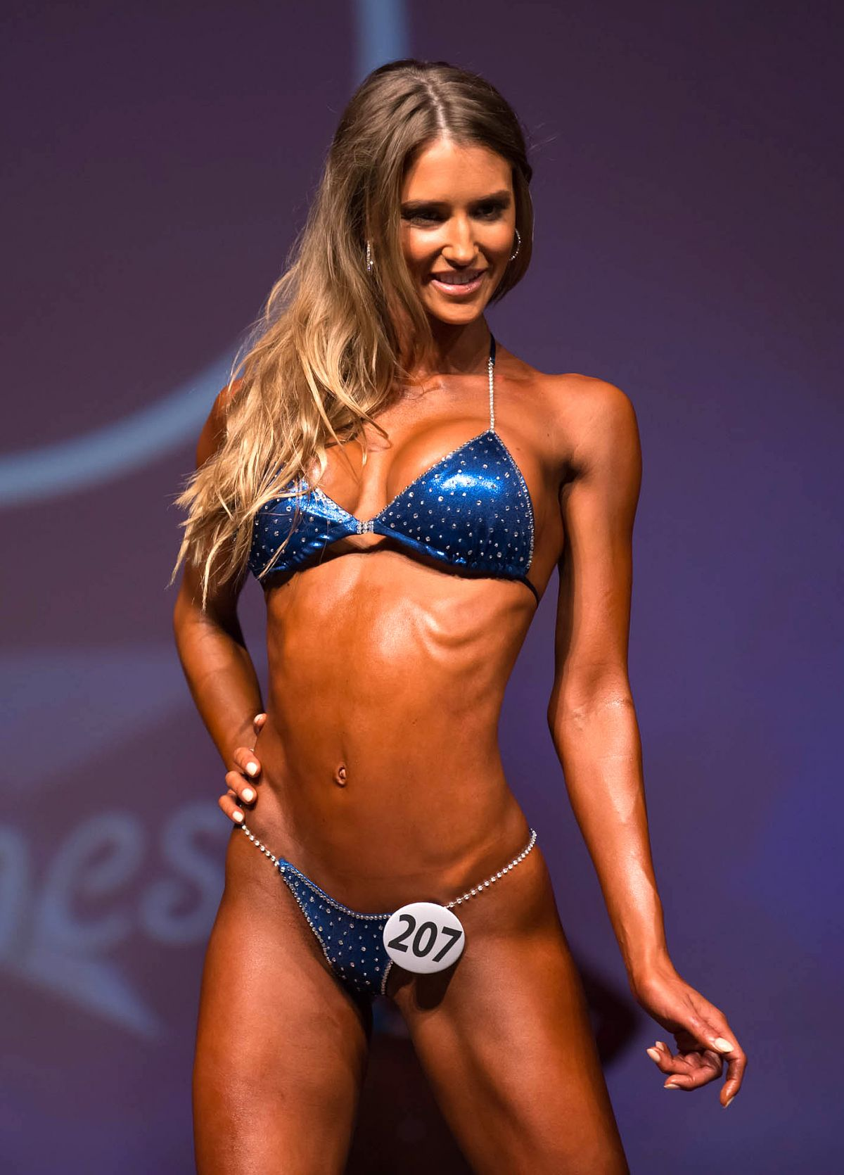 DAICA THRALL at Miami Pro Fitness Ms. Bikini