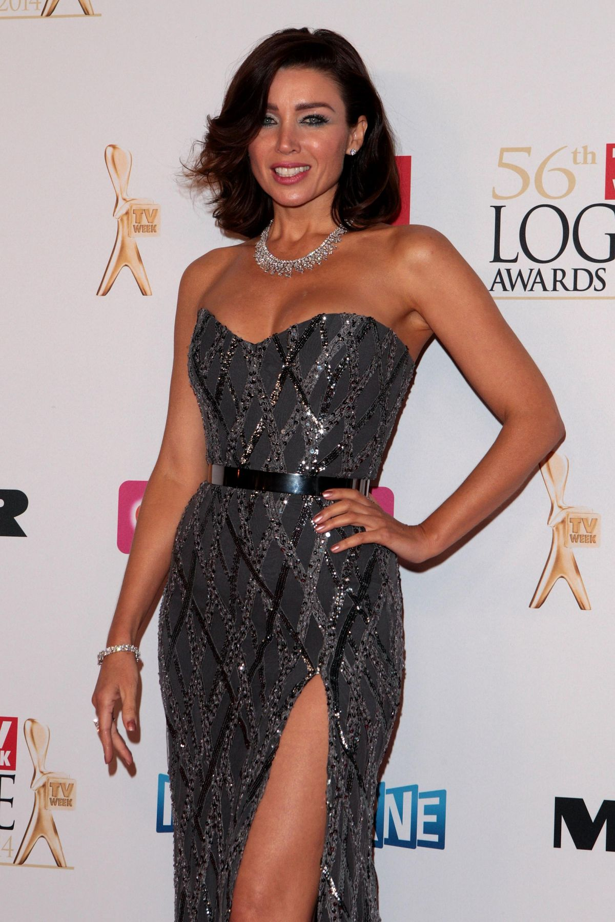 DANNII MINOGUE 2014 Logie Awards in Melbourne