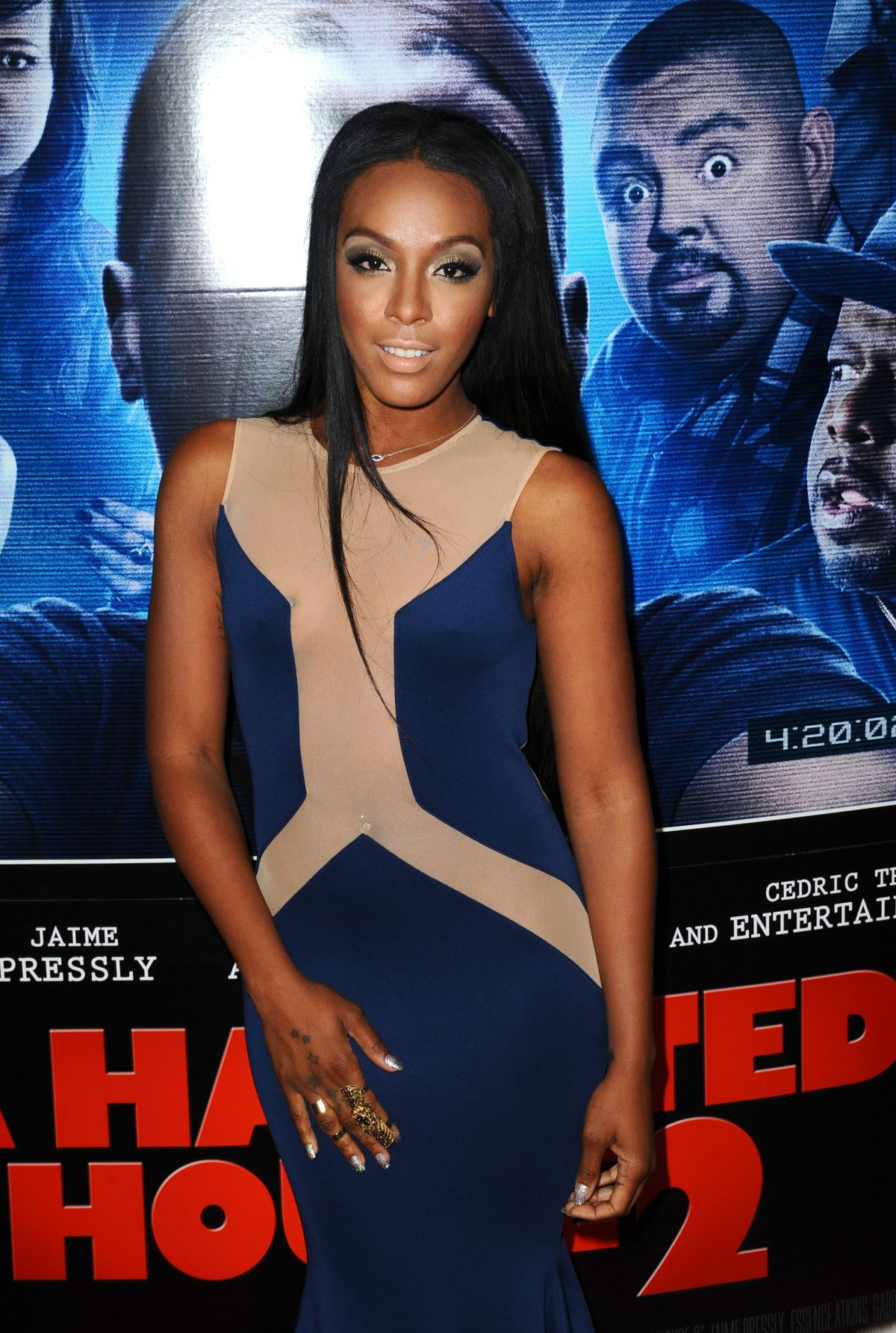 DAWN RICHARD at A Haunted House 2 Premiere in Los Angeles
