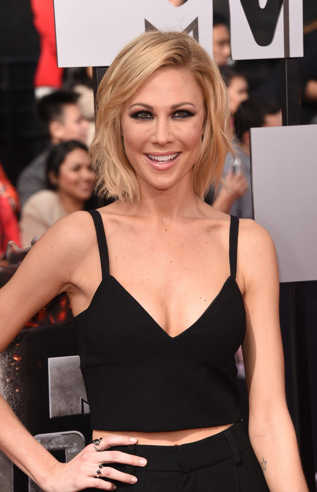 DESI LYDIC at MTV Movie Awards 2014 in Los Angeles