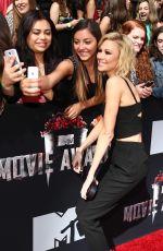 DESI LYDIC at MTV Movie Awards 2014 in Los Angeles