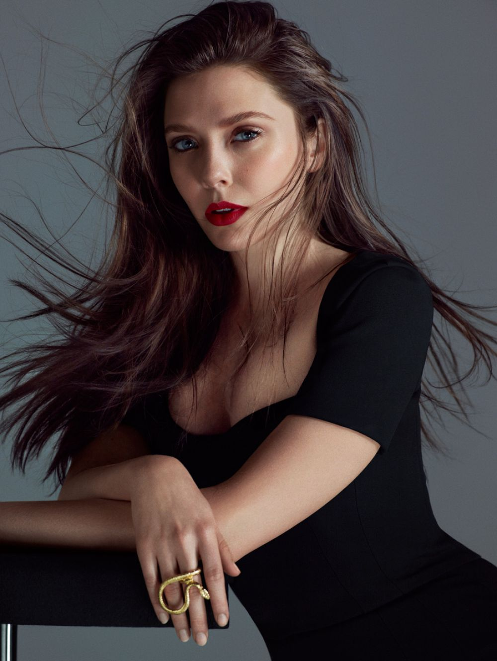 ELIZABETH OLSEN in Flaunt Magazine, May 2014 Issue