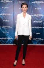 EMBETH DAVIDTZ at The Amazing Spider-man 2 Premiere in New York