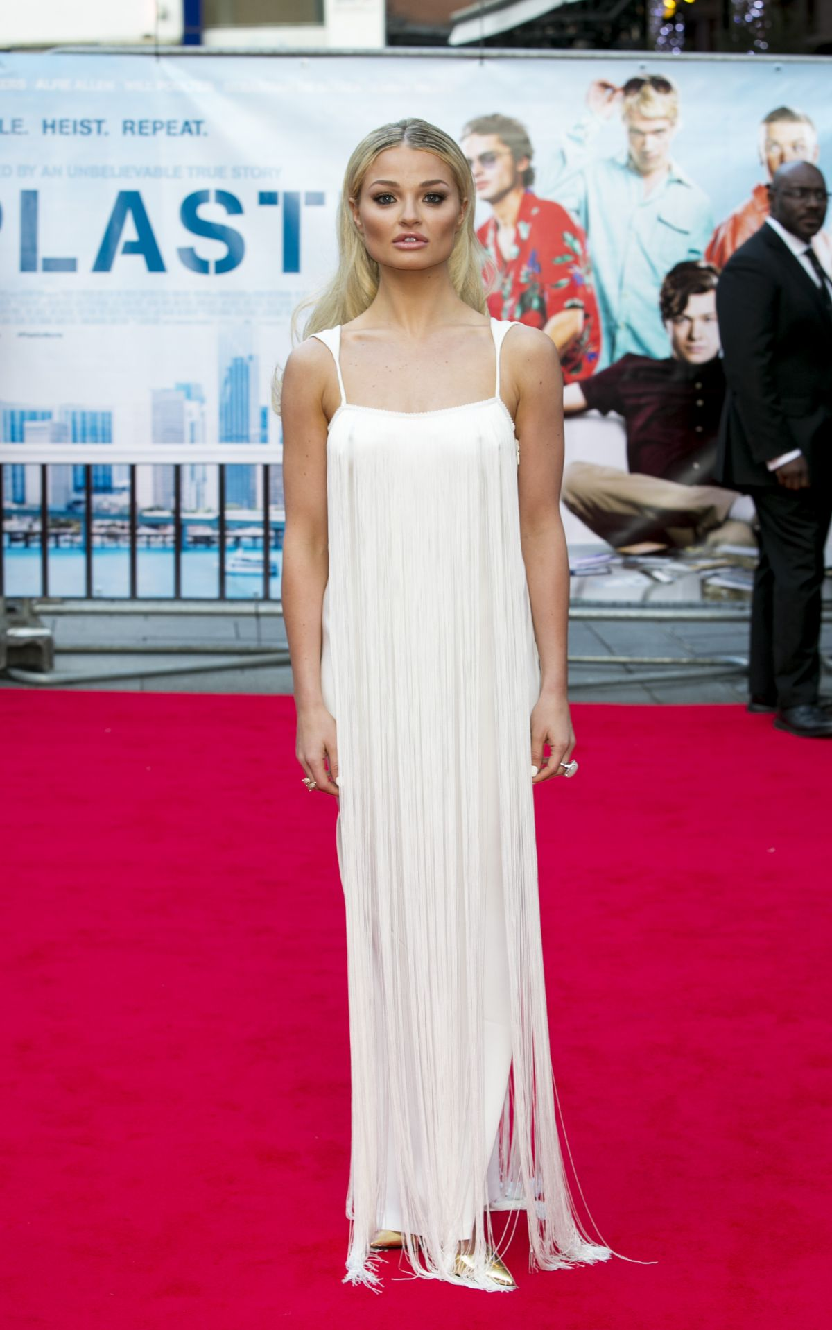 EMMA RIGBY at Plasctic Premiere in London