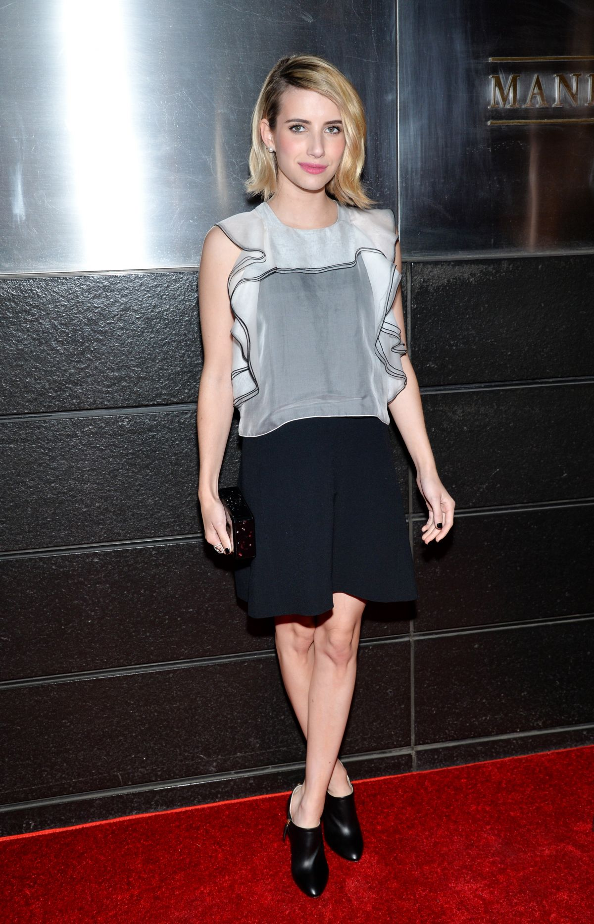 EMMA ROBERTS at New Yorkers for Children Spring Benefit