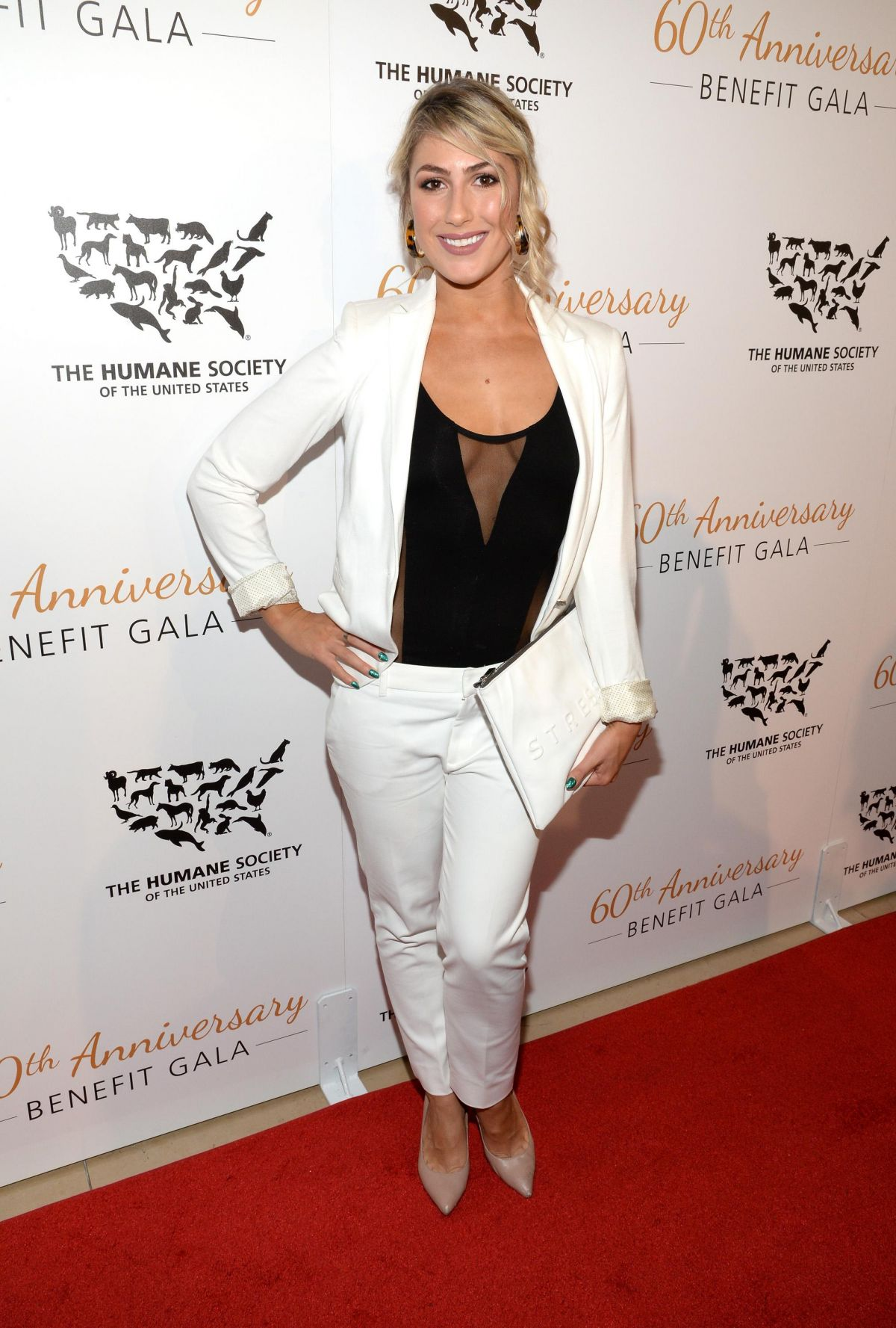 EMMA SLATER at Humane Society of the US 60th Anniversary Gala in Beverly Hills