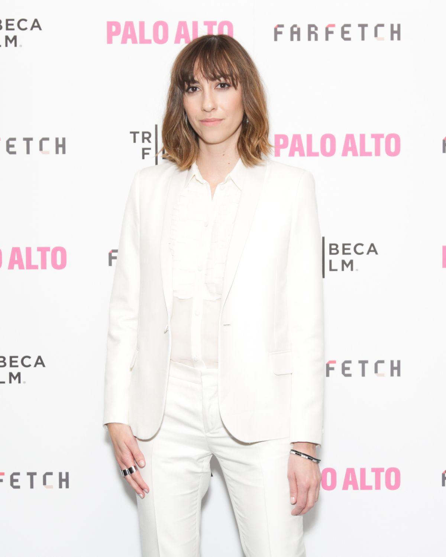 GIA COPPOLA at Palo Alto Premiere at Tribeca Film Festival