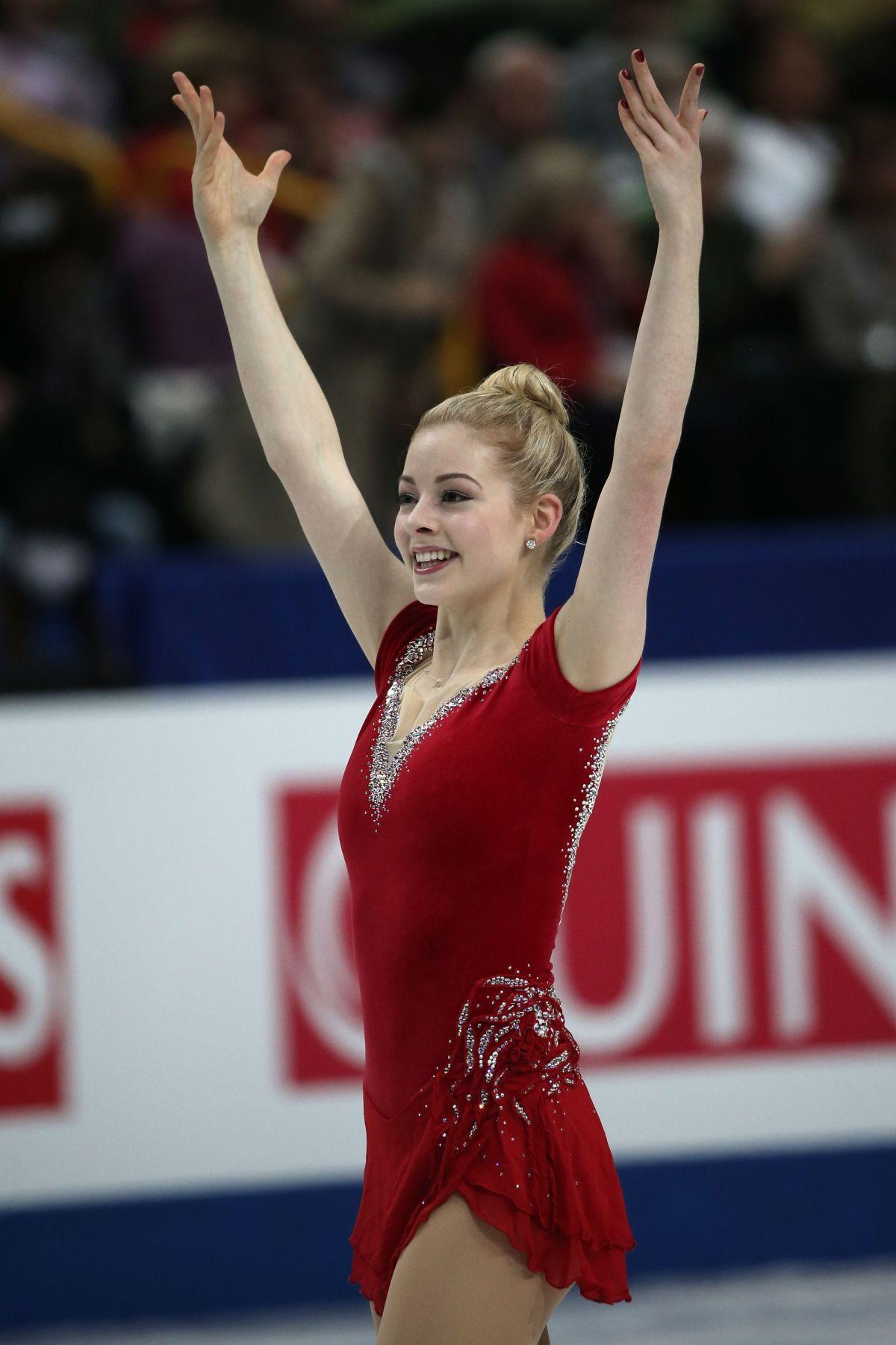GRACIE GOLD at ISU World Figure Skating Championships