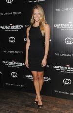 HANNAH FERGUSON at Captain America: the Winter Soldier Screening in New York