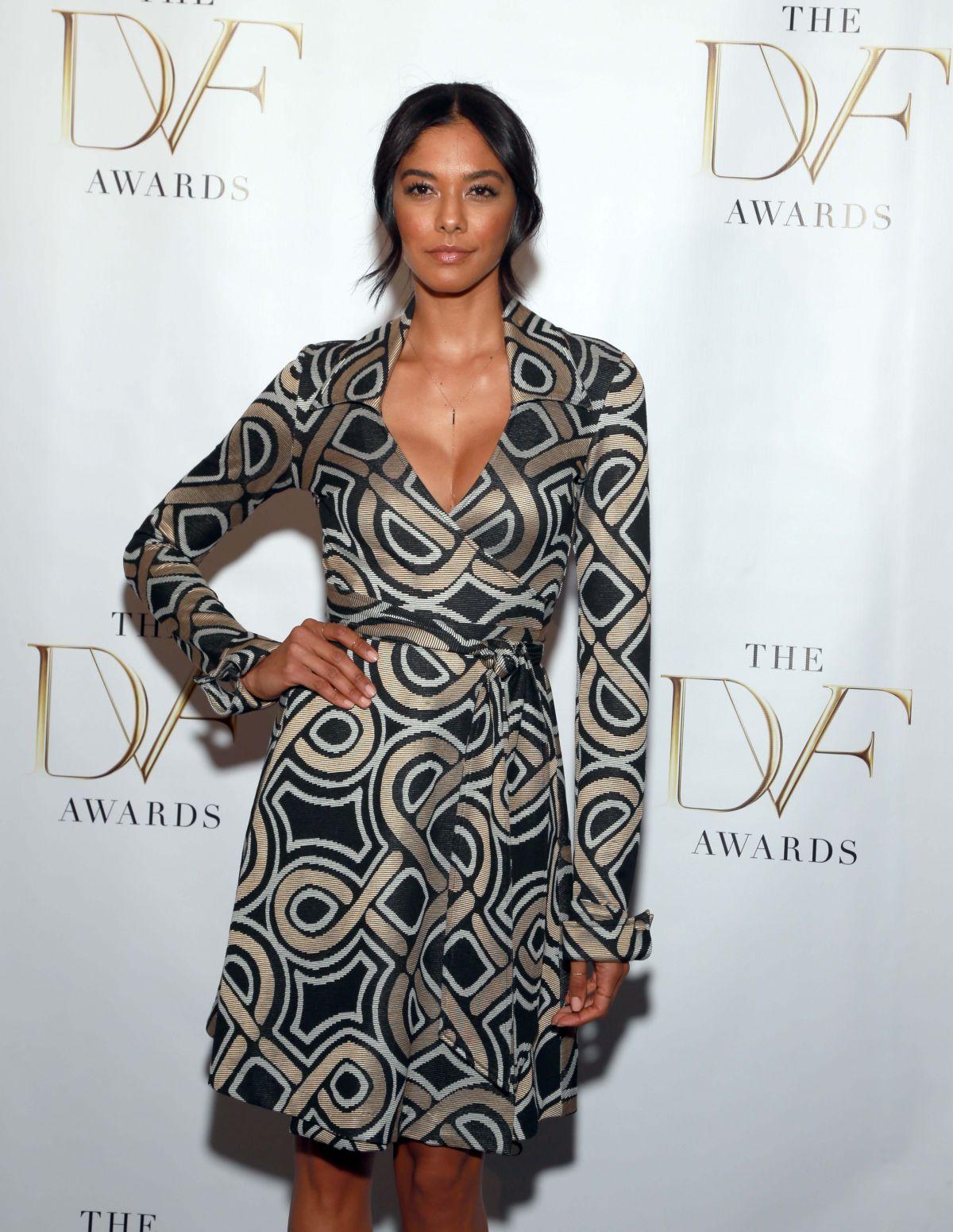 HEIDY DE LA ROSA at 2014 DVF Awards in New York