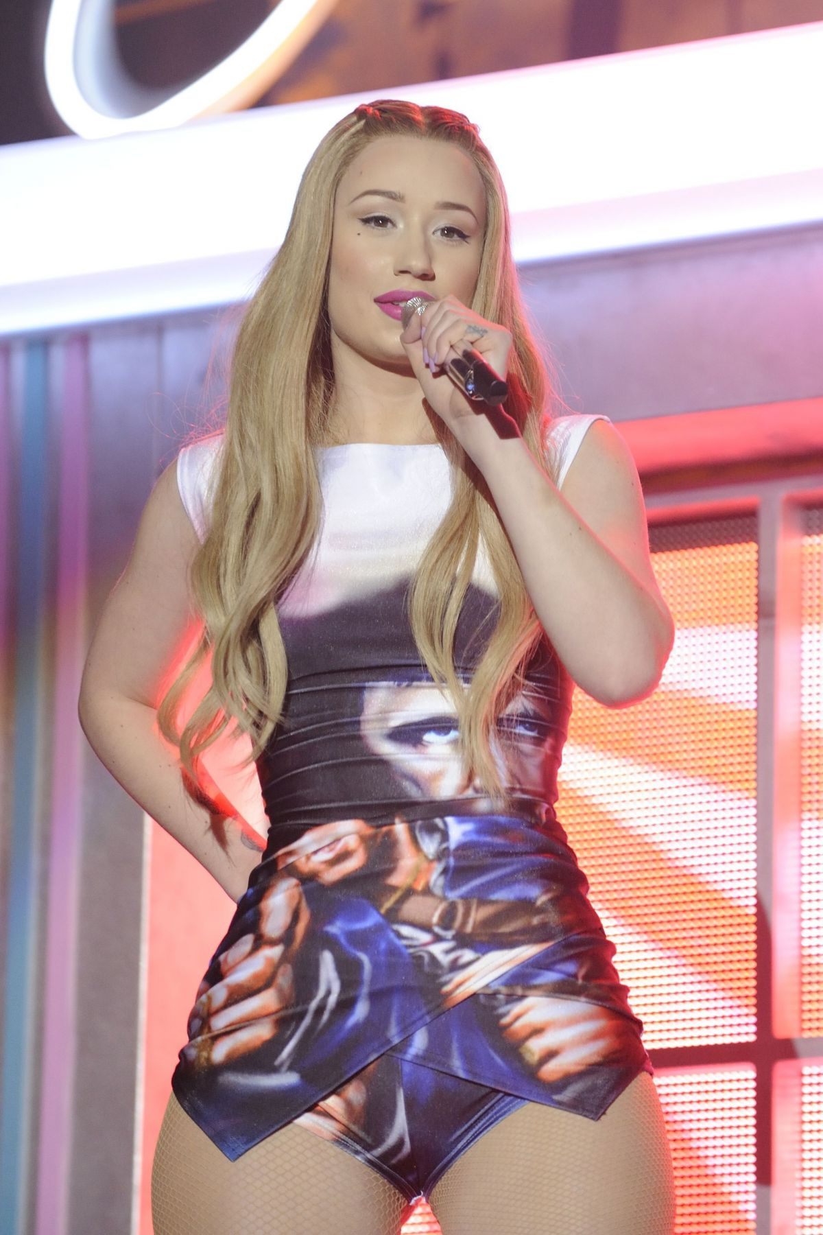 The New French Teenage Fashion Collection Une Fille From: IGGY AZALEA Performs At Her The New Classic Tour In
