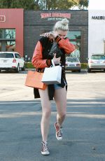 IRELAND BALDWIN and GIGI HADID Out in Malibu