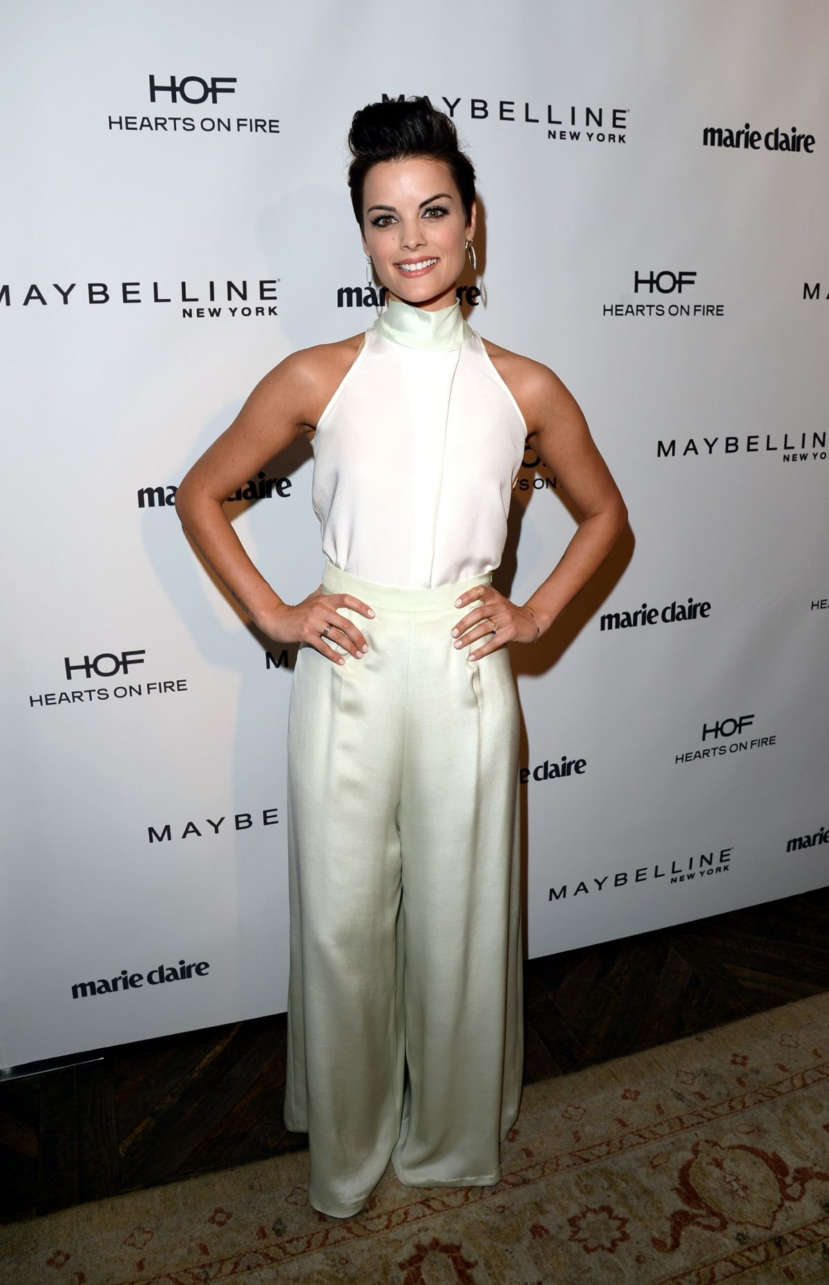 JAIMIE ALEXANDER at Marie Claire Celebrates May Cover Stars in Hollywood