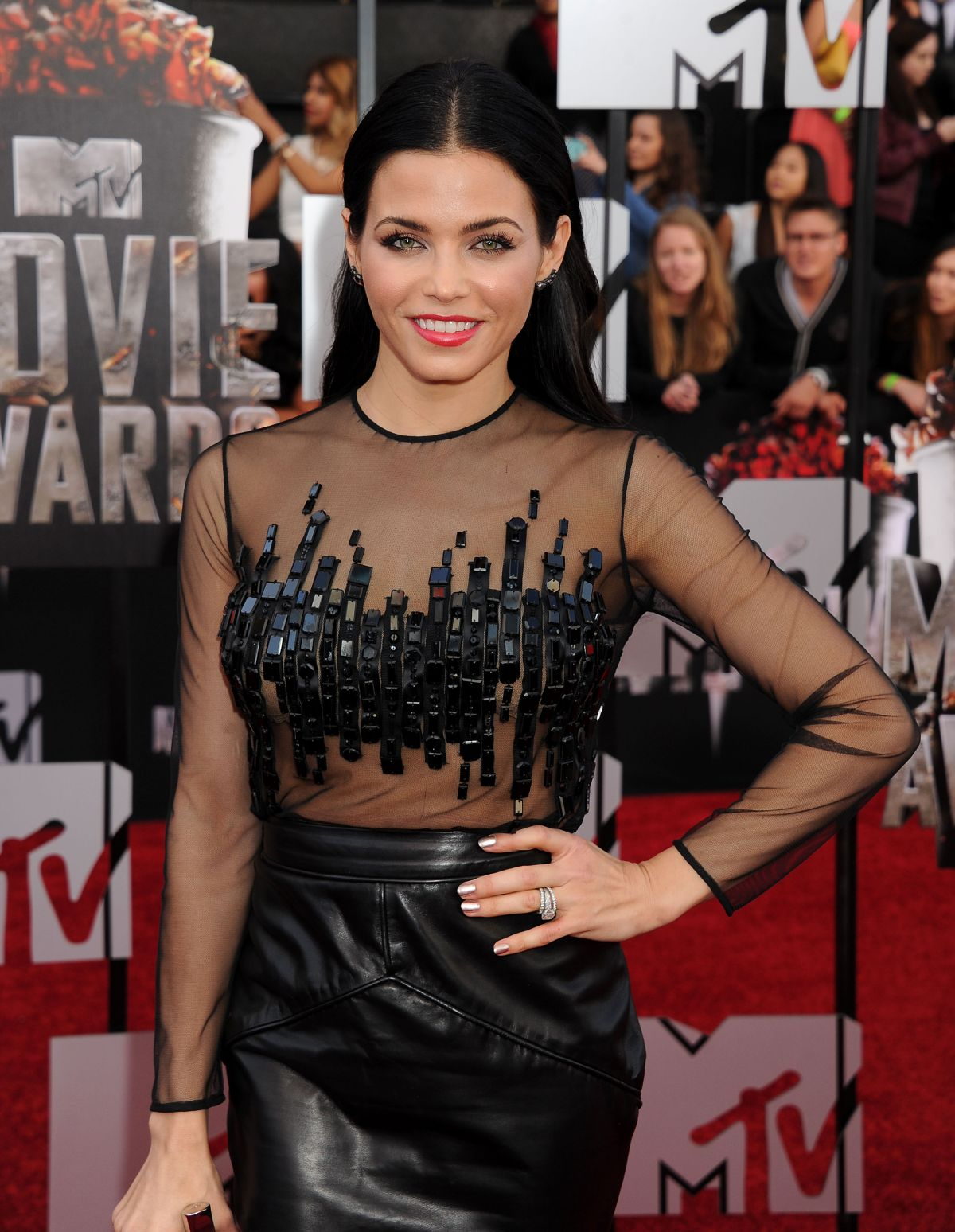 JENNA DEWAN at MTV Movie Awards 2014 in Los Angeles