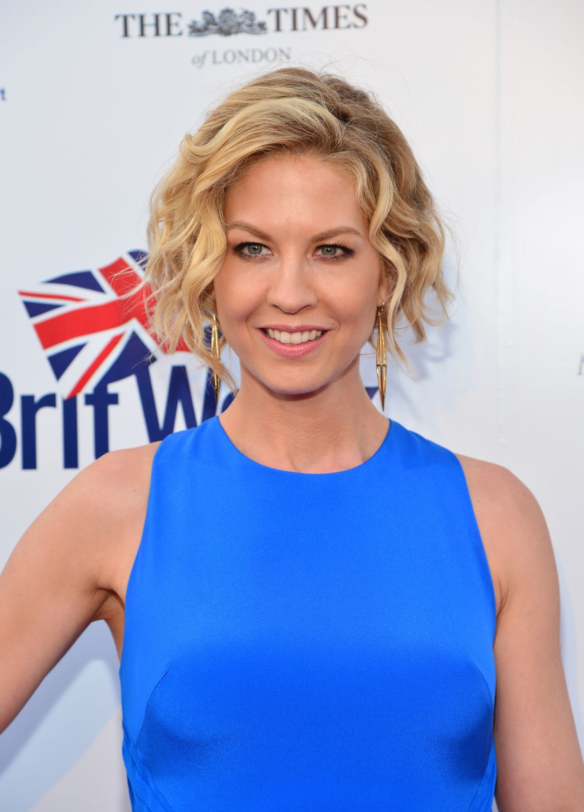 JENNA ELFMAN at 2014 Britweek Launch Party in Los Angeles - HawtCelebs ...
