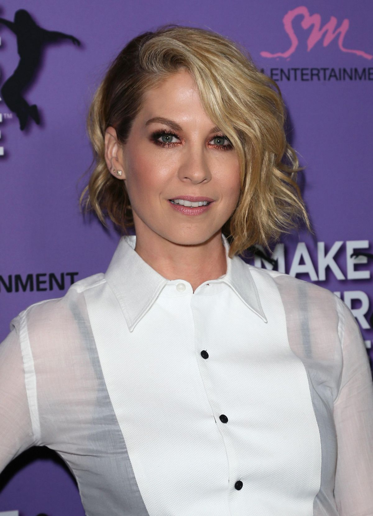 JENNA ELFMAN at Make Your Move Premiere in Los Angeles
