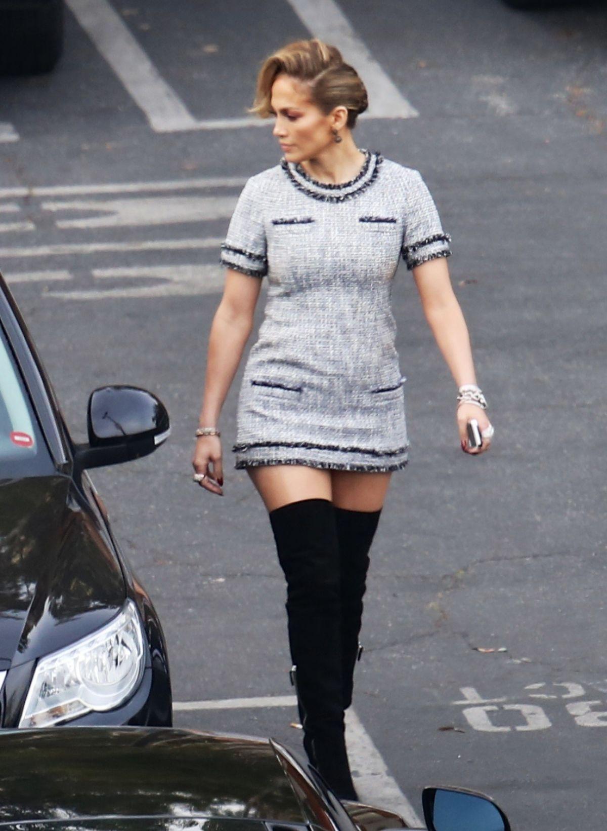 Jennifer Lopez American Idol Boots