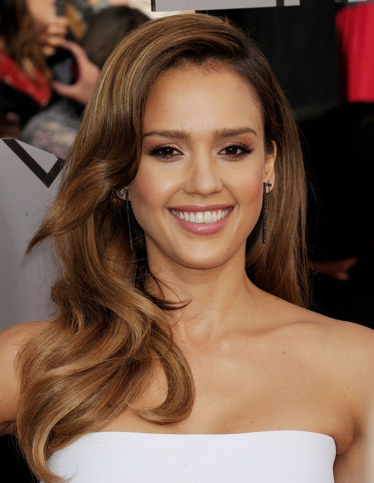 JESSICA ALBA at MTV Movie Awards 2014 in Los Angeles ...