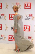 JESSICA MARAIS at 2014 Logie Awards in Melbourne