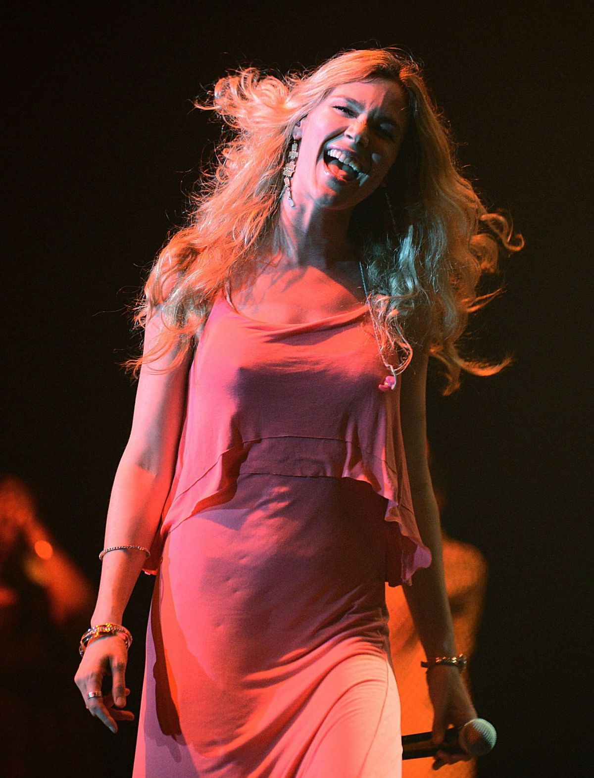JOSS STONE Performs at a Concert in Johannesburg