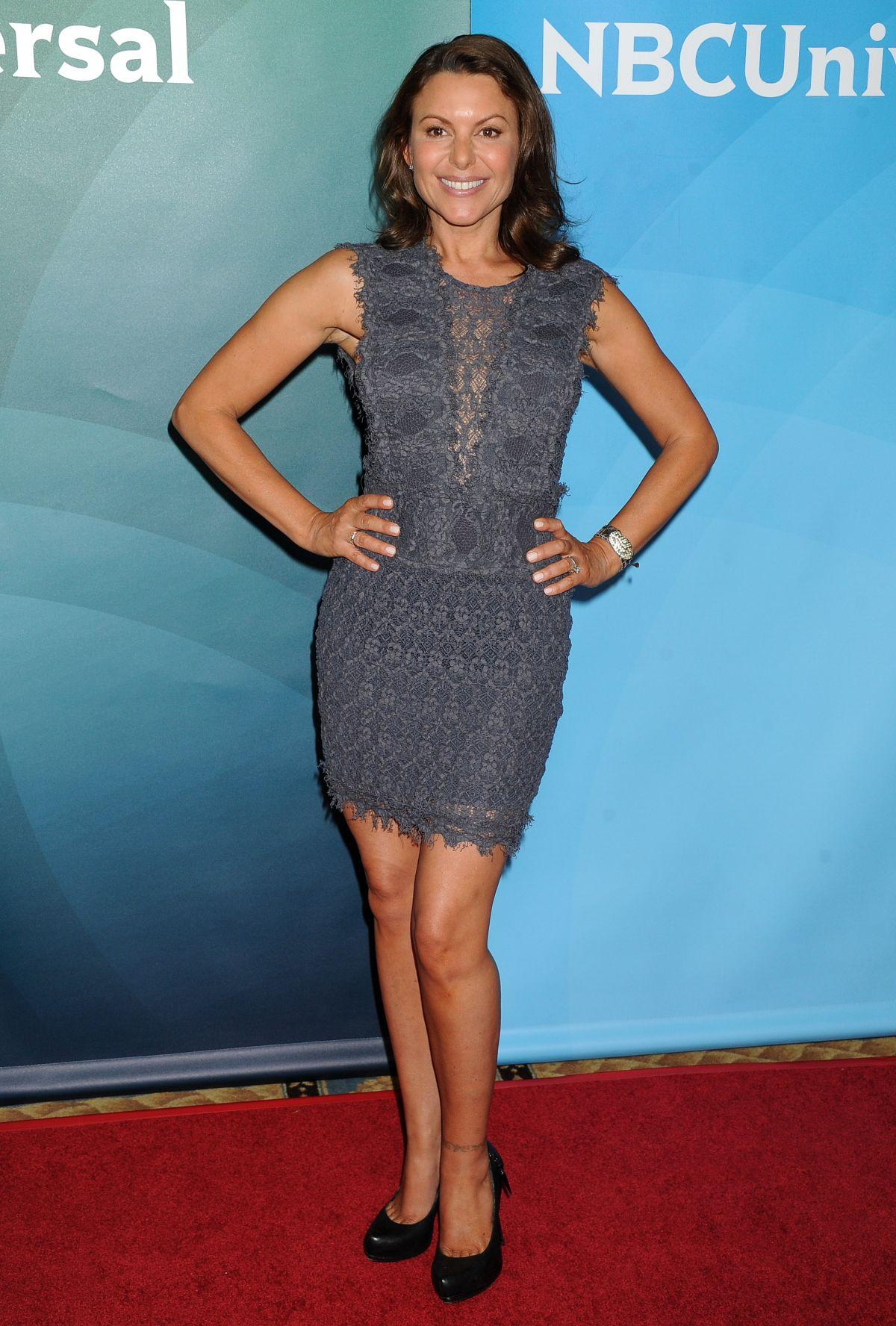 KARI WUHRER at NBC Universal Summer Press Day