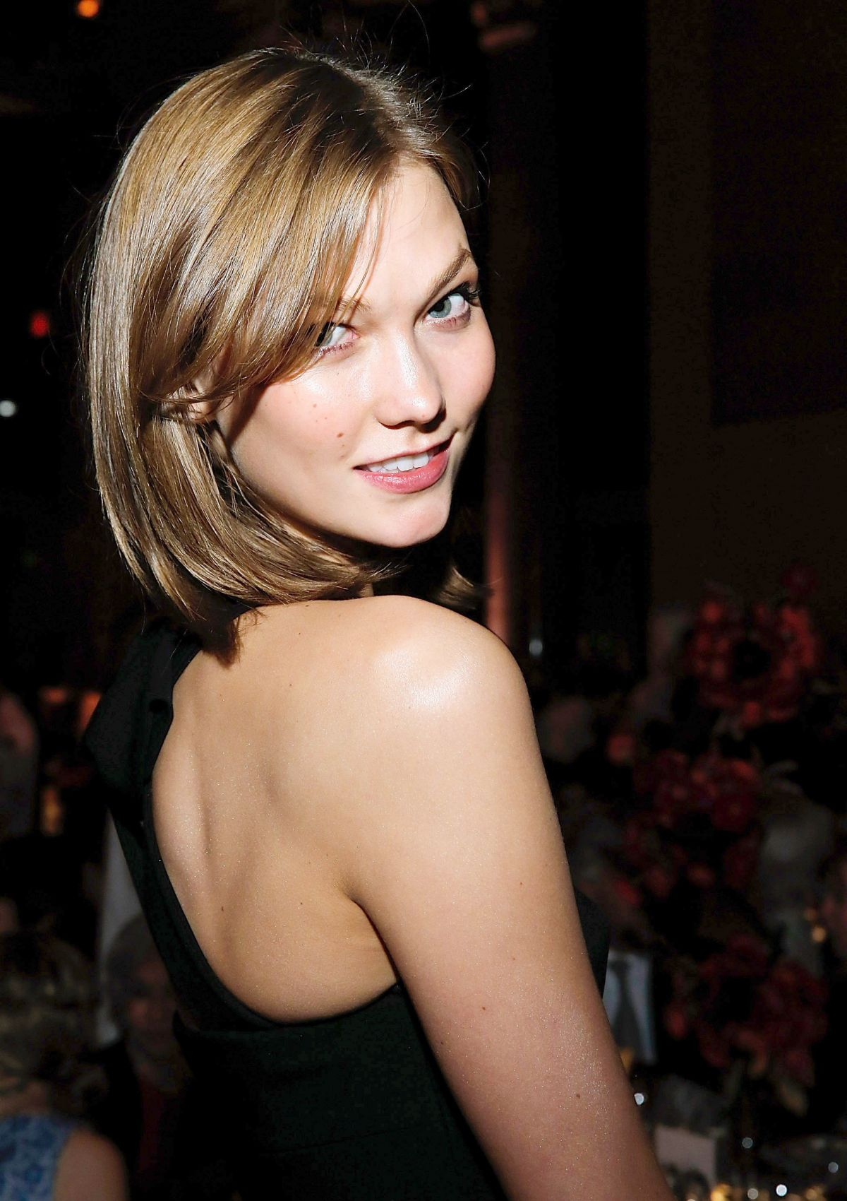 KARLIE KLOSS at the New Museum Spring Gala in New York
