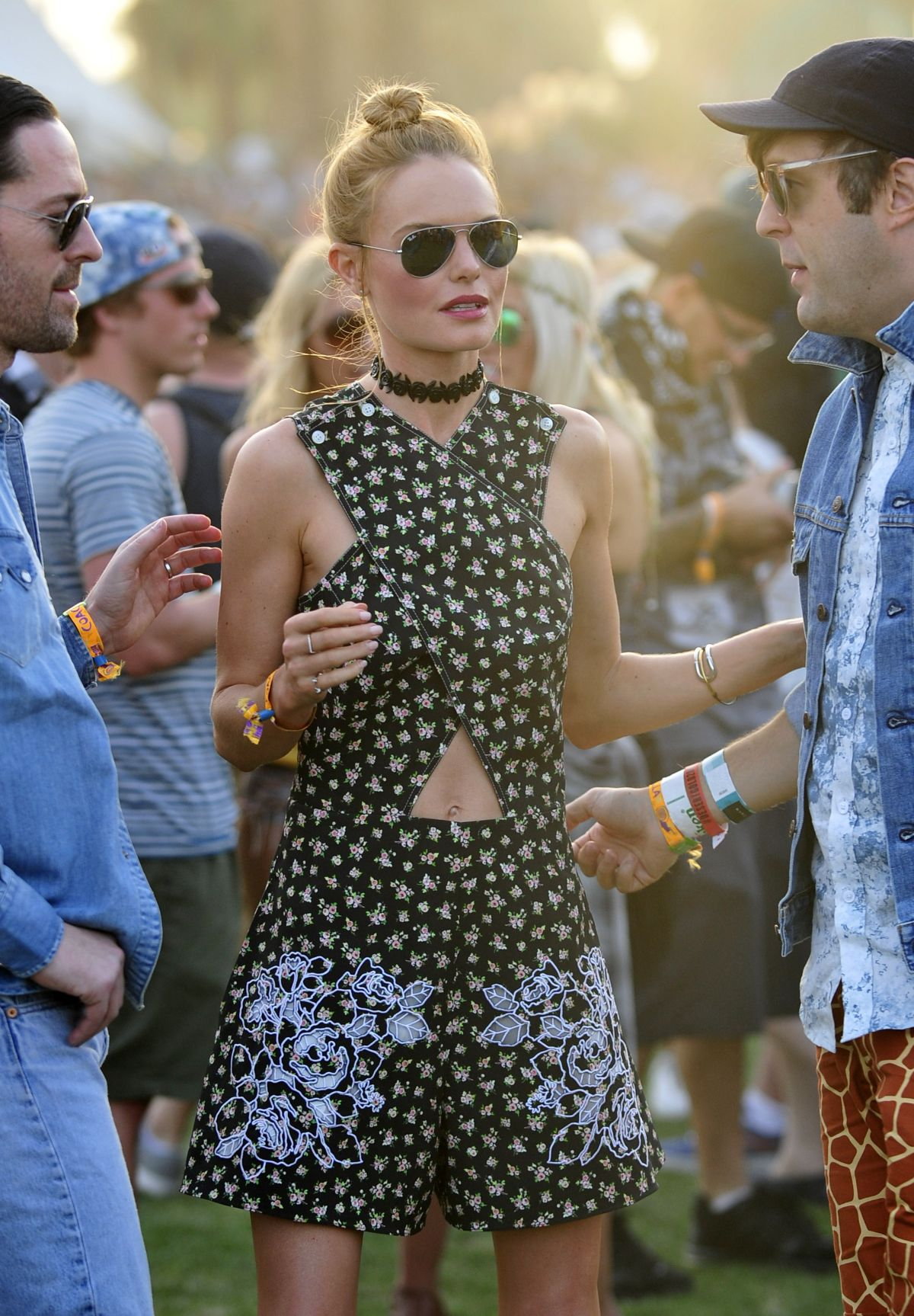 KATE BOSWORTH Out and About at Coachella Festival