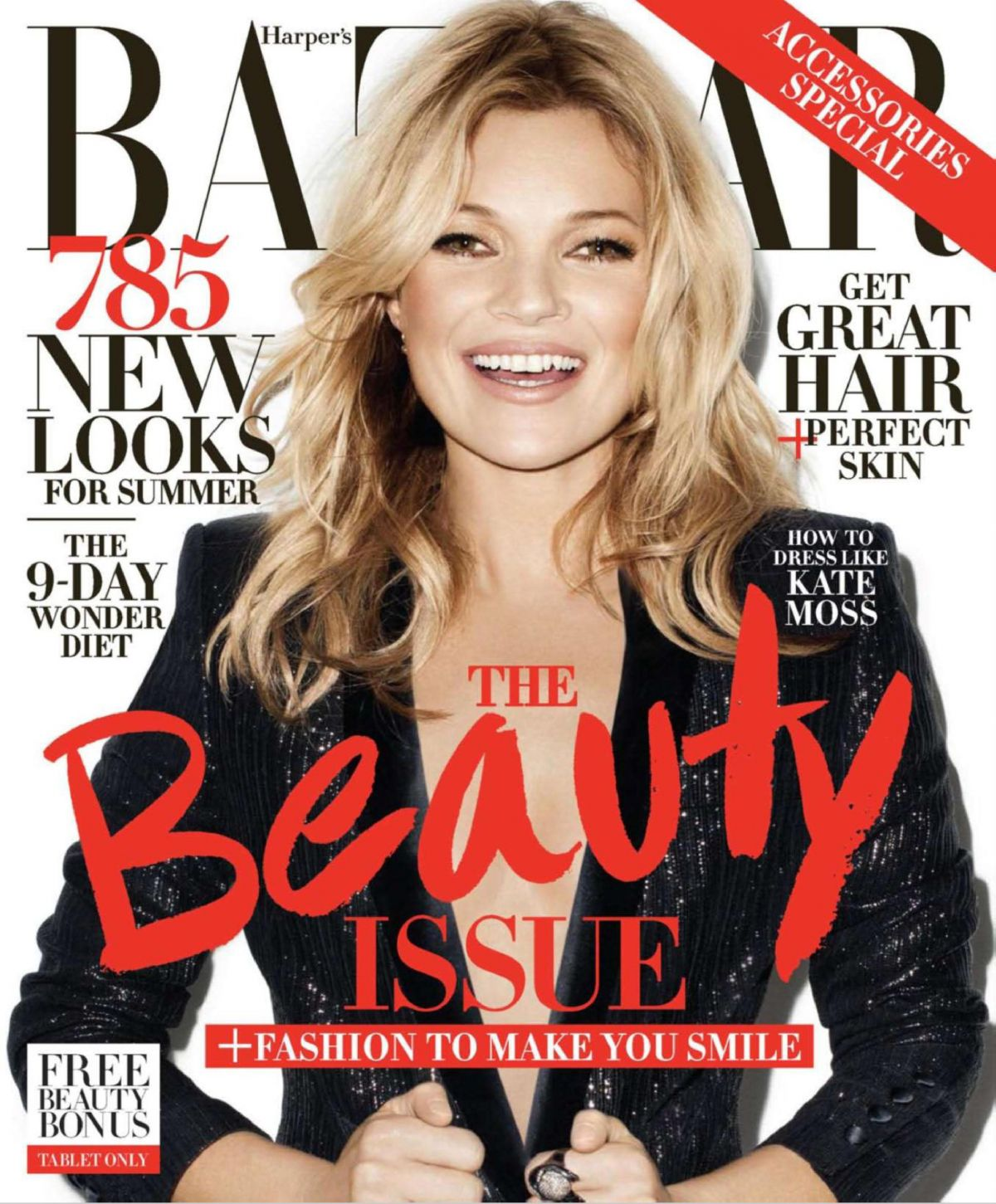 KATE MOSS in Harpers Bazaar Magazine, May 2014 Issue - HawtCelebs - Hawt...
