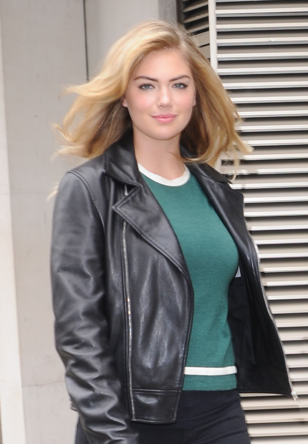 KATE UPTON Leaves Dorchester Hotel in London