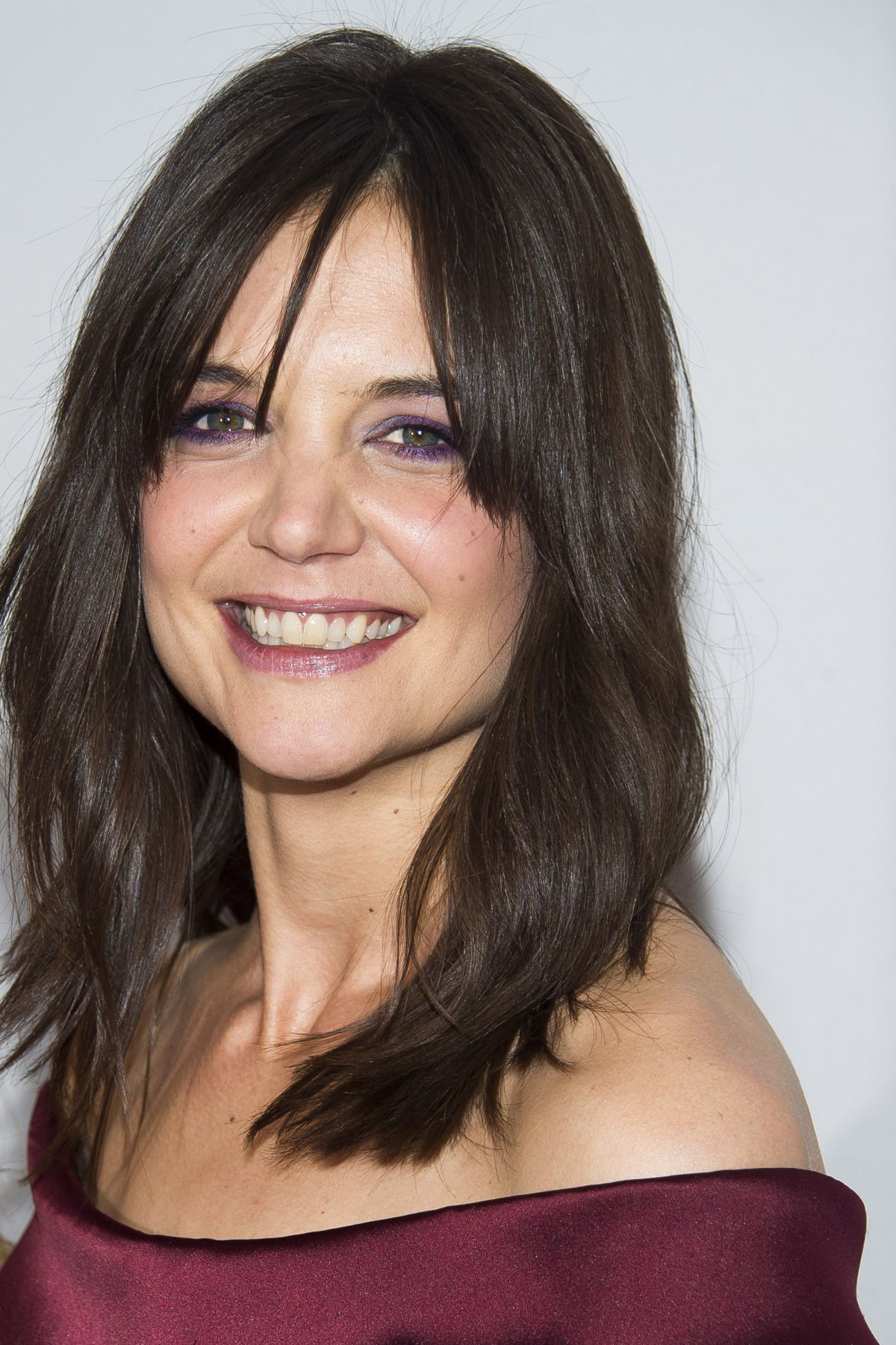 KATIE HOLMES at Miss Meadows Premiere in New York