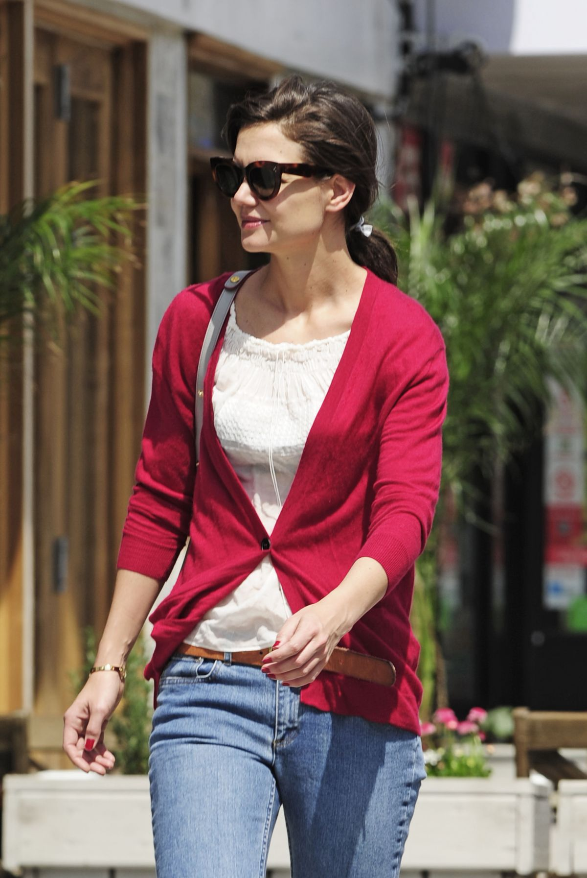 KATIE HOLMES Out and About in New York 1104