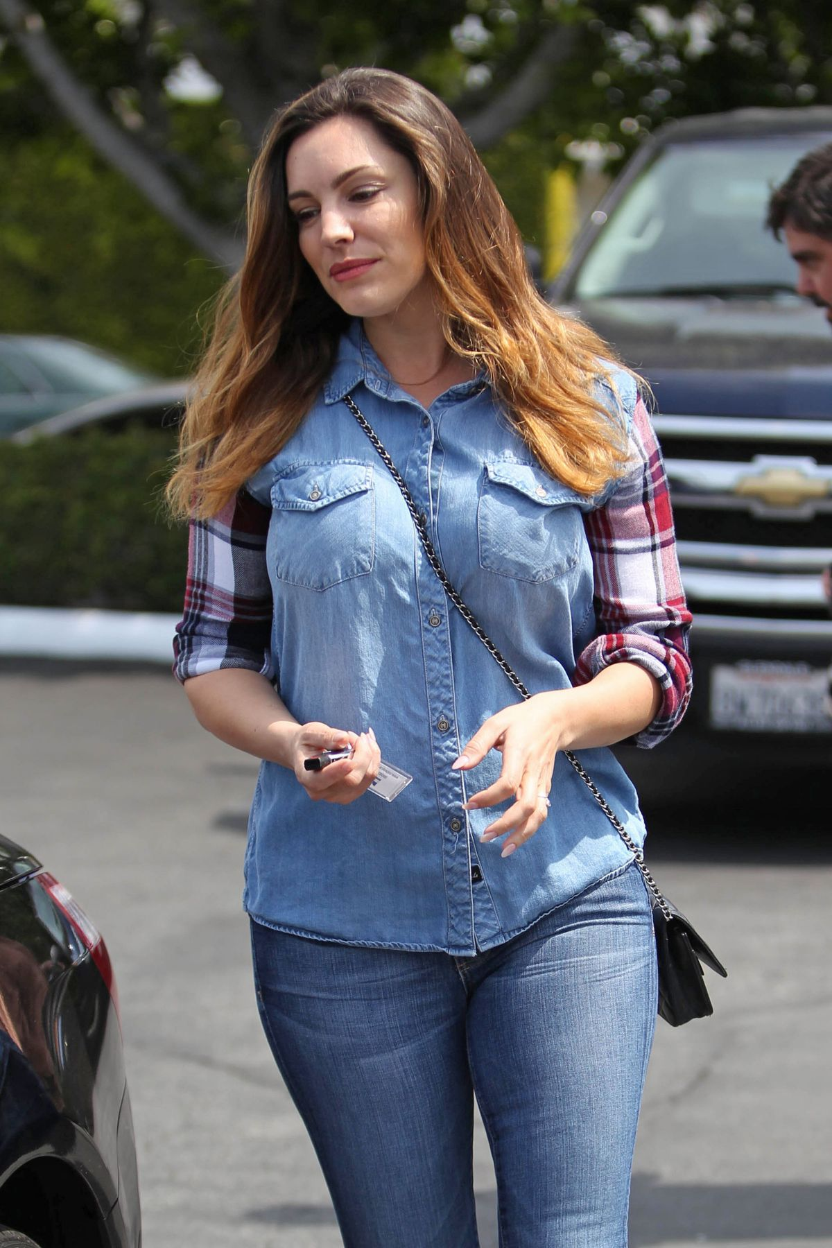 KELLY BROOK Out for Shopping in Los Angeles