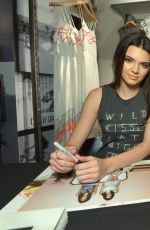 KENDALL and KYLIE JENNER at Pacsun Spring Collection Launch in San Jose